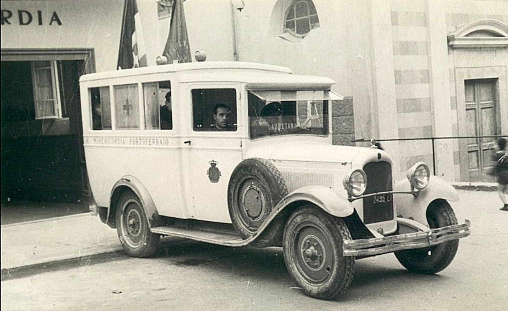 ambulanza a motore